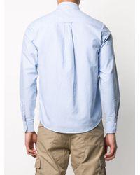 メンズ Carhartt WIP チェストポケット シャツ Blue