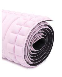 Materassino yoga con logo goffrato di No Ka 'oi in Pink