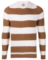 メンズ Eleventy ストライプ セーター Multicolor