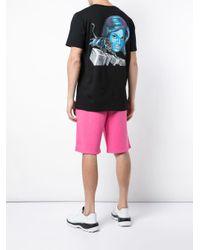 T-shirt oversize Panther Off-White c/o Virgil Abloh pour homme en coloris Black