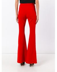 Givenchy High Waist Flared Trousers