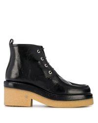 Ботинки На Блочном Каблуке Laurence Dacade, цвет: Black