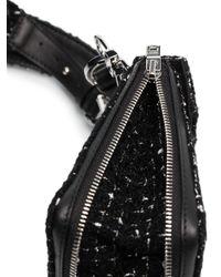 Нагрудная Сумка Из Ткани Букле Amiri для него, цвет: Black