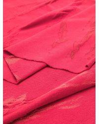 Sciarpa Monique di UMA | Raquel Davidowicz in Pink
