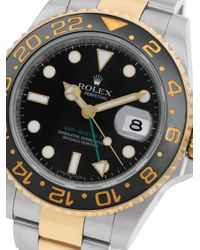 Reloj GTM Master II de 40mm 2006 Rolex de color Black
