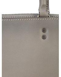 COACH Gray Rogue Briefcase for men