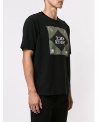 """Undercover T-Shirt mit """"Bloody Geekers""""-Print in Black für Herren"""