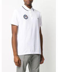メンズ Polo Ralph Lauren パッチディテール ポロシャツ White