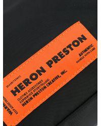メンズ Heron Preston Techno カメラバッグ Black