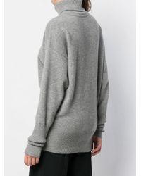 Victoria Beckham オーバーサイズ セーター Gray