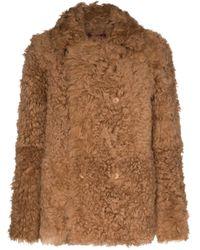 Cappotto reversibile Pippa di Sies Marjan in Brown