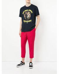 Yoshiokubo - Blue Lion-print T-shirt for Men - Lyst