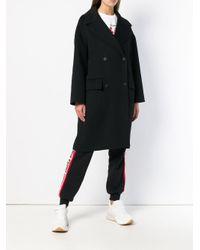 KENZO Black Oversized Coat
