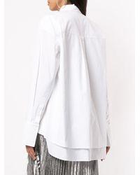 Juun.J ストレートシャツ White