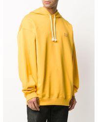 Acne オーバーサイズ パーカー Yellow
