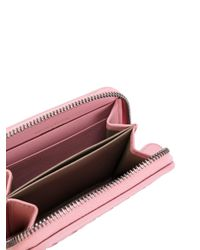 Bottega Veneta - Pink Textured Mini Purse - Lyst