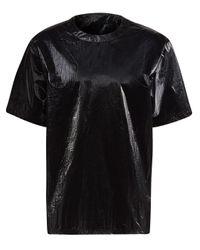 Y-3 テクスチャード Tシャツ Black