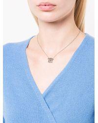 Cathy Waterman Metallic Rose Cut Black And White Diamond Necklace