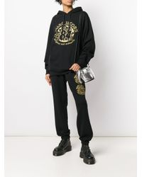 Marc Jacobs Black Jogginghose mit Logo-Print