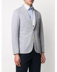 Blazer classique Eleventy pour homme en coloris Gray