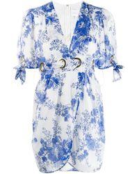 Vestito corto con stampa di Alice McCALL in Blue