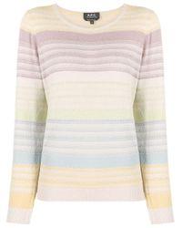 A.P.C. ストライプ セーター Multicolor