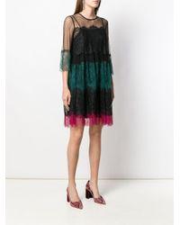 Vestito asimmetrico di Twin Set in Multicolor