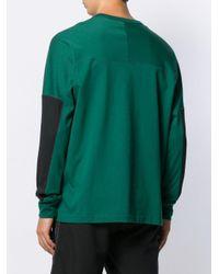 Adidas Trui Met Stiksel Detail in het Green voor heren