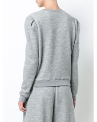 Adam Lippes Gray Knit Jumper