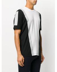 Neil Barrett Black Panelled T-shirt for men