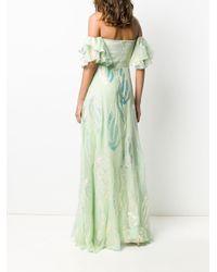 Temperley London Clarisse ドレス Green
