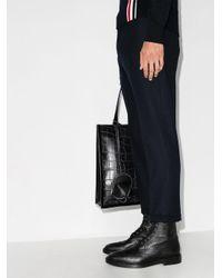 Ботинки Wingtip С Перфорацией Thom Browne для него, цвет: Black