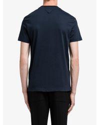 Prada Blue Classic T-shirt Set for men