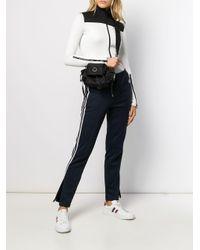 Mini sac à bandoulière Dauphine Moncler en coloris Black
