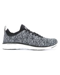 Athletic Propulsion Labs Black Propelium Fly Knit Sneakers