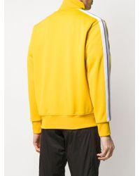 メンズ Palm Angels ロゴ トラックジャケット Yellow