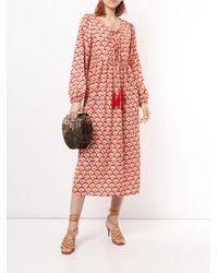Bambah カフタン ドレス Red