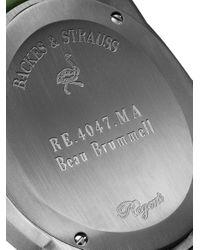 Orologio Regent Beau Brummell 4047 di Backes & Strauss in Green