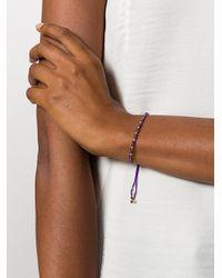 Astley Clarke - Multicolor Amethyst Beaded Skinny Bracelet - Lyst