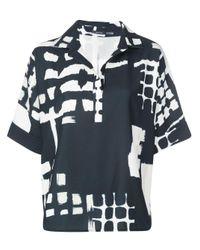 Natori プリント Tシャツ Black