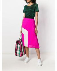 Essentiel Antwerp - Pink Perridon Pleated Skirt - Lyst