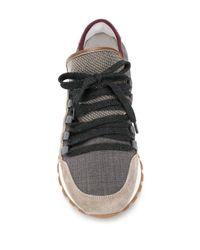 Кроссовки В Стиле Колор-блок Brunello Cucinelli, цвет: Multicolor