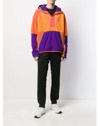 Felpa con design color-block di Nike in Purple da Uomo