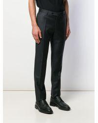 Pantalones rectos de vestir Incotex de hombre de color Gray