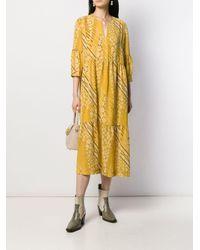 Ba&sh Orson ミディドレス Yellow