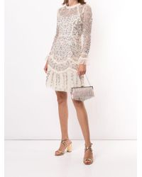 Needle & Thread フローラル ドレス Natural