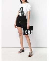 DSquared² Icon クラッチバッグ Black