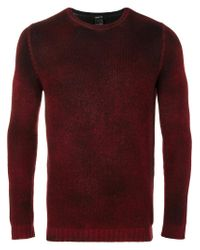 Avant Toi - Red Ribbed Sweater for Men - Lyst