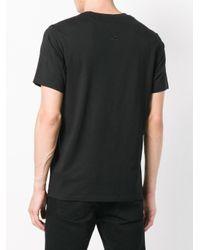 メンズ KENZO ロゴプリント Tシャツ Black