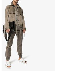 Sandales Lazarus Granola Rick Owens pour homme en coloris White